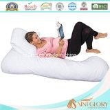 Тела подушки белизны подушка u супоросого полного Maternity - форменный подушка стельности