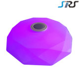APP Lampe de plafond Bluetooth Speaker Music LED Plafonnier RGB Blanc Couleur Dimmable Lampe de salon