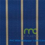 Papel de parede do PVC do projeto da forma/papel de parede profundamente gravado