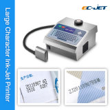 Impresora de inyección de tinta grande del carácter del Dod para la impresión del cartón (EC-DOD)