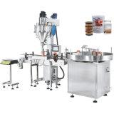 Maquinaria de etiquetado líquida de la máquina de rellenar del polvo de la medicina y de la especia