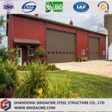 戸枠の手段のための鋼鉄構築の倉庫
