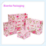 Выдвиженческие цветастые мешки печатание бумажные