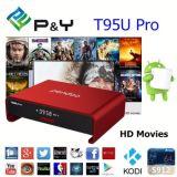 Doos T95u PROPendoo Amlogic S912 Kodi 17.0 van 6.0 TV WiFi van de Kern van Octa de Dubbele Androïde 2g 16g Vastgestelde Hoogste Doos