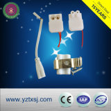 Cubierta del tubo del LED con la PC Metarial nano del PVC