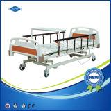 Mesa de cama de hospital manual de tres funciones con el cajón (BS-838A)
