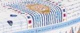 La trapunta ha stampato la nave stabilita dell'assestamento dei bambini della trapunta