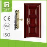 Puerta principal caliente del hierro de la puerta del hierro labrado de la venta 2017 sola
