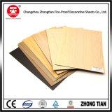 Laminado de madera del papel HPL del grano