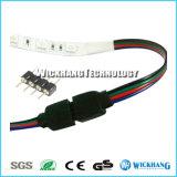 разъем переходники мыжской штепсельной вилки 4-Pin целесообразный на RGB 3528 свет прокладки 5050 SMD СИД