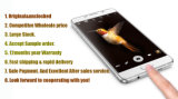 Samsang initial Galexy A7 (2016) A710 a déverrouillé des téléphones cellulaires de MP du faisceau 13 de quarte de 5.2 pouces