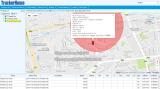 Rastreamento de número de IMEI Online Tk103b Rastreador de GPS de veículo com alarme de sensor de choque