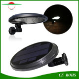 PIRセンサーおよび薄暗いモードの新しいデザイン500lm太陽屋外の照明56LED回転適用範囲が広いSMD3014 LED太陽壁ライト