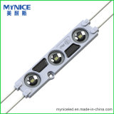 Módulo del módulo SMD2835 IP67 DC12V 1W del alto brillo LED de la garantía 3year
