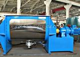 Double machine horizontale de mélangeur de bande pour mélanger la poudre sèche