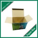 Première boîte en carton de empaquetage estampée de repli pour le bac de café