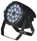 18*10W LED RGBW 4in1는 알루미늄 동위 빛을 방수 처리한다