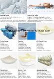 Visco elastische Muster-und Presse-Gewebe-Art-Matratze-Deckel