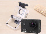 """A câmera 4k WiFi HD cheio 1080P DVR 12MP 2 """" LCD da ação Waterproof a câmera dos esportes de 30m"""