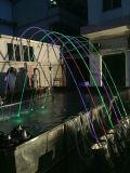 Edelstahl-Wasser-Brunnen versieht im Freien musikalische Wasser-Brunnen-Geräten-Wasser-Brunnen mit einer Düse