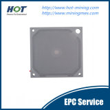 Placa de imprensa líquida contínua do filtro da membrana dos PP da separação da venda quente