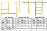 휴대용 이동할 수 있는 작업 플래트홈 H U 프레임 시스템 비계