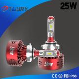25W linterna auto del poder más elevado LED para el Ce 4WD del coche 9006