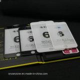 전면 커버 9h 질 색깔 강화 유리를 새겨 iPhone를 위한 4D 스크린 프로텍터 더하기 7 7 플러스 6 6s, 새로운 3D 향상 감기