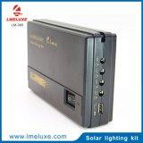 lumière rechargeable de système solaire de 3W DEL pour la fonction de remplissage de maison et de téléphone mobile