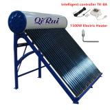 riscaldatore di acqua solare d'acciaio galvanizzato Nonpressure della valvola elettronica 50L-500L