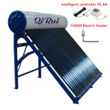 50L-500L nonpressure vacío de acero galvanizado tubo calentador de agua solar
