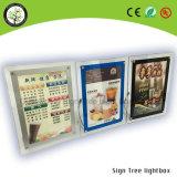 Kundenspezifischer Acrylheller Kasten des bilderrahmen-LED