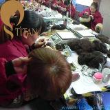 Людей Toupee человеческих волос Remy Toupee индийских
