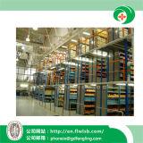 Racking Multi-Tier d'acciaio per la memoria del magazzino con approvazione del Ce