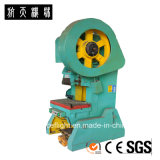 Máquina de perfuração da imprensa de potência J21S-16 mecânica