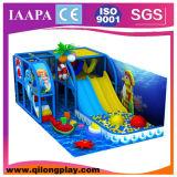 Campo de jogos azul das crianças do tema do oceano interno (QL-17-6)