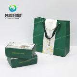 Bolsa de papel usada para las compras/hacer publicidad/promoción