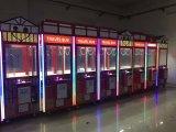 Машина игры крана игрушки машины игры оптового цветастого когтя игрушки призовая