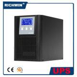 UPS en línea de alta frecuencia de seno 1kVA de la onda de la conversión pura del doble