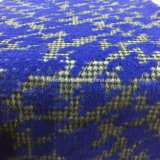 Tela topada de las lanas de Houndstooth del telar jacquar