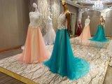 Nuovi vestiti 2017 da sera del fiore di unione 3D di arrivo