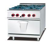 Intervallo commerciale del gas 6-Burner con la stufa di gas & del forno (GH-997A)