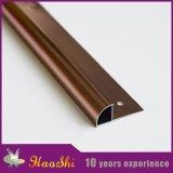 Ajuste/dimensión de una variable de la esquina de aluminio de cobre amarillo del azulejo modificada para requisitos particulares