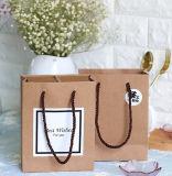 Bolsas de papel con asas Eco friendly
