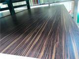 Bobinga 마스크 MDF, 색깔 No.: 801 크기 120X2440mm 의 간격: 순서로, 접착제: E0, Bobinga 서류상 MDF, 멜라민 MDF
