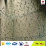 rectángulo revestido del PVC Gabion de los 3m del x 1m del x 1m con precio bajo