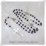 Vendita calda di plastica Perline cattolica rosario, comunione rosario. (IO-cr225)