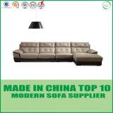 Mobilia d'angolo moderna di vendita calda di Lizz del sofà di Leder