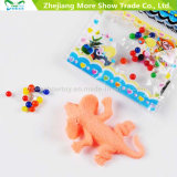 Seven Colors Crystal Soil with Growing Animals Jouets en eau Décoration intérieure