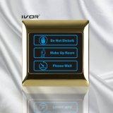 금속 개략 프레임 (SK dB2000SIN3)에 있는 호텔 현관의 벨 시스템 실내 위원회